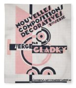 Front Cover Of Nouvelles Compositions Decoratives Fleece Blanket