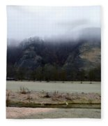 Frost And Fog Fleece Blanket