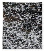 Frost Flakes On Ice - 29 Fleece Blanket