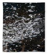 Frost Flakes On Ice - 30 Fleece Blanket