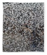 Frost Flakes On Ice - 14 Fleece Blanket
