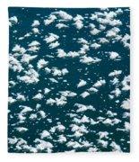 Frost Flakes On Ice - 34 Fleece Blanket
