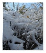 Frost Grass Fleece Blanket
