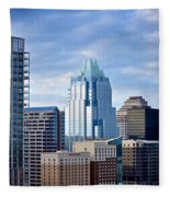 Frost Tower Iphone And Prints Fleece Blanket