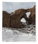 Frosted Double Arch Fleece Blanket