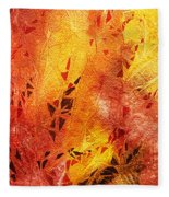 Frosted Fire IIi Fleece Blanket