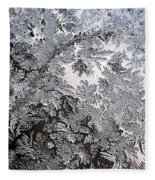 Frosted Glass Abstract Fleece Blanket