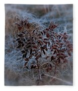Frosted Rugosa Fleece Blanket