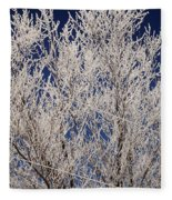 Frosted Wires Fleece Blanket