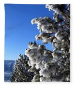 Frosty Limbs Fleece Blanket