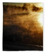 Frosty Morning ... Fleece Blanket