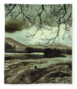 Frosty Morning At Glen'orchey   Fleece Blanket