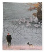 Frosty Morning Fleece Blanket