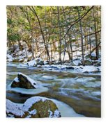 Frosty River Fleece Blanket
