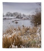Frosty River Tyne Fleece Blanket