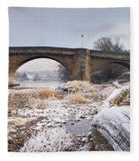 Frosty Tyne Fleece Blanket