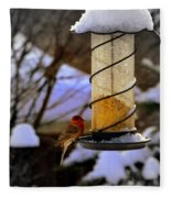 Frozen Feeder And Disappointment Fleece Blanket