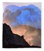 Frozen - Torres Del Paine National Park Fleece Blanket