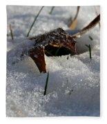 Frozen Oak Fleece Blanket