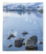 Frozen Serenity Fleece Blanket