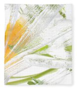 Frozen Spring Vii Fleece Blanket