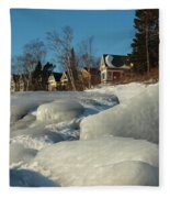 Frozen Surf Fleece Blanket