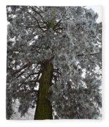 Frozen Tree 2 Fleece Blanket
