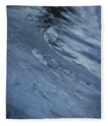 Frozen Wave Fleece Blanket