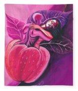 Fruit Of The Garden Of Eden Fleece Blanket