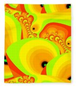 Fruit Paradise Fleece Blanket