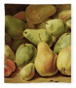 Fruit Still Life Fleece Blanket