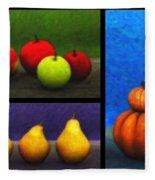 Fruit Trilogy Fleece Blanket