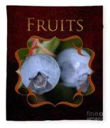 Fruits Gallery Fleece Blanket
