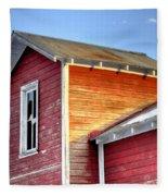 Ft Collins Barn 13502 Fleece Blanket