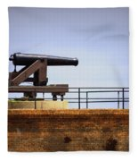 Ft Gaines - Cannon Fleece Blanket