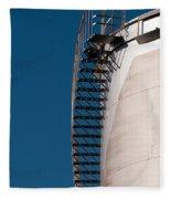 Fuel Storage Tank 03 Fleece Blanket