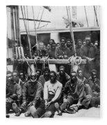 Fugitive Slaves, 1862 Fleece Blanket