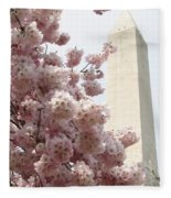 Full Bloom In Dc Fleece Blanket