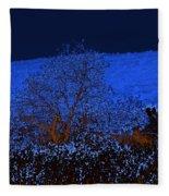 Full Moon Night Fleece Blanket