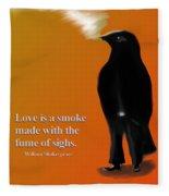 Fume Of Sighs - Williams Shakespeare Fleece Blanket