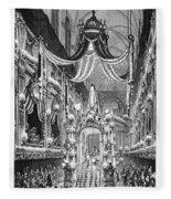Funeral Dauphine, 1746 Fleece Blanket