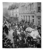 Funeral Of Queen Victoria Fleece Blanket