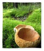 Fungi Cup Fleece Blanket