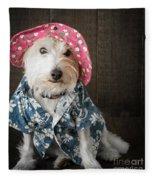 Funny Doggie Fleece Blanket
