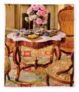 Furniture - Chair - The Tea Party Fleece Blanket