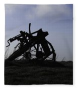 Furrow Plough Fleece Blanket