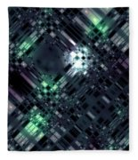 Future Metropolis Fleece Blanket