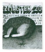 Fuzzmaster 2000 Fleece Blanket