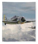 Fw 190 - Butcher Bird Fleece Blanket