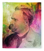 F.w. Nietzsche Fleece Blanket